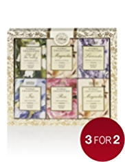 Floral Collection Mixed Guest Soap Gift Set