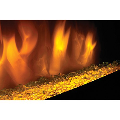 Napoleon 72 in. Electric Fireplace Insert with Glass