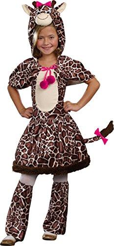 Morris Costumes Gigi Giraffe Child Small (Gigi Giraffe Girls Costume)