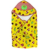 Baby Swaddle Wrap Sleeping Bag/ Baby Wrapper For New Born /Just Born (YELLOW)