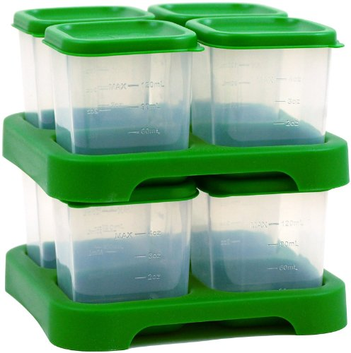green sprouts Fresh Baby Food Unbreakable Cubes, Green, 8 Count
