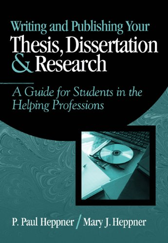 Writing and Publishing Your Thesis, Dissertation, and...