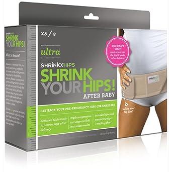 UpSpring Baby Shrinkx Hips Ultra Post Natal Compression Belt Nude - M/L