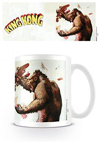 Set: King Kong, Building Tazza Da Caffè Mug (9x8 cm) E 1 Sticker Sorpresa 1art1®