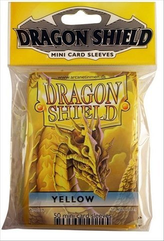 Fantasy Flight Games DSH87 Dragonshields, Mini Yellow - 1