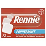 Rennie Peppermint - 72 Tablets
