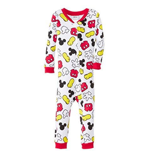Mickey Mouse Baby-Boys Infant Long Sleeve Blanket Sleeper, Assorted, 24 Months front-533530