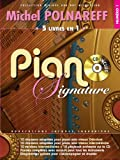 echange, troc Polnareff Michel, Adaptations par Jacques Labarriere - Piano Signature Michel Polnareff + CD