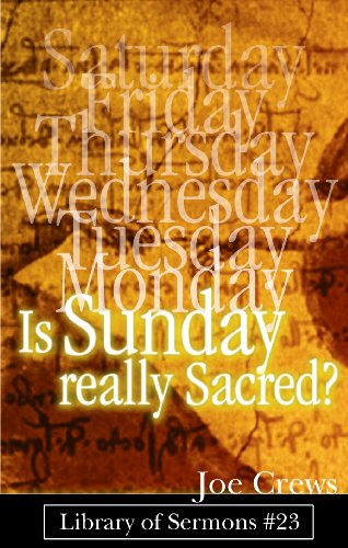 Is Sunday Really Sacred? (Saturday Is Service Day compare prices)