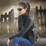 OneTigris 3rd Generation Multi-purpose Hidden Underarm Shoulder Bag Concealed Pack (Black)