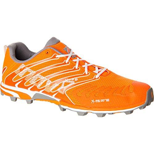 Inov-8 X-Talon™ 190 Trail Running Shoe,Orange/Grey/White,9.5 M US