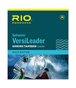 Rio saltwater versileader 10ft sinking for Saltwater fishing leader