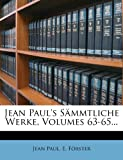 img - for Jean Paul's S mmtliche Werke, Volumes 63-65... (German Edition) book / textbook / text book
