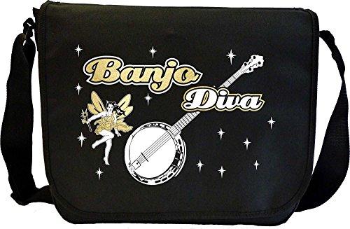 Banjo-Diva-Fairee-Sheet-Music-Document-Bag-Musik-Notentasche-MusicaliTee