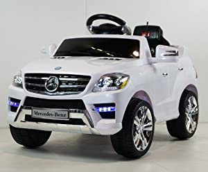 Battery operated ride on mercedes benz ml350 for Mercedes benz ml350 battery