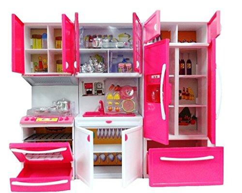 Buy Zest 4 Toyz Modern Kitchen Play Set With Refrigerator