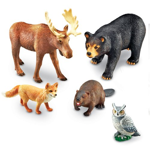 Learning Resources Jumbo Forest Animals - 1