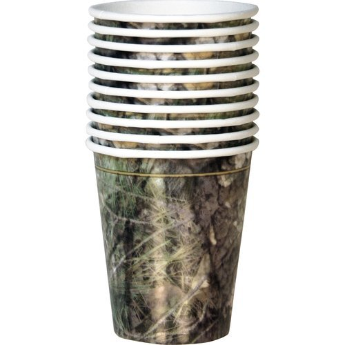 Camouflage Camo Party Supplies Party Cups Value Pack 10 Count - 1