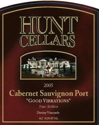 2005 Hunt Cellars 'Good Vibrations' Cabernet Sauvignon Port, Paso Robles 375 Ml