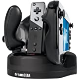Brand New Dreamgear Nintendo Wii U Quad Dock Revolution