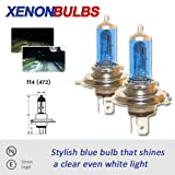 H4 100/90w Xenon Dipped Beam Headlight Bulbs FORD GALAXY 2.0GLX, GHIA, 2.8GLX, GHIA, 1.9TD 1996 To 2000