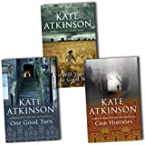 Kate Atkinson Jackson Brodie 3 Books Collection Pack Set RRP: £23.97 (Case Histories, When Will There Be Good News?, One Good Turn) Kate Atkinson