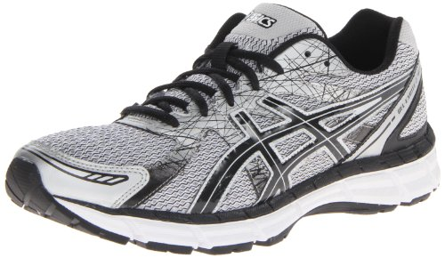 Asics Men'S Gel Excite 2 Running Shoe,White/Black/Silver,10 M Us