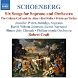 Schoenberg: Six Songs for Soprano & Orchestra