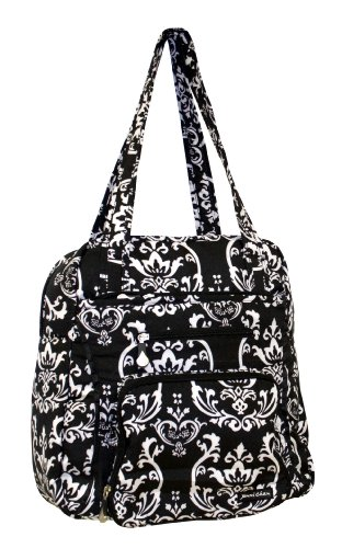jenni-chan-damask-soft-gym-tote-black-pink-one-size