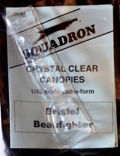 Squadron Products Bristol Beaufighter Vacuform Canopy - 1