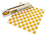 バッククラフト ワックスペーパーシート チェッカー イエロー BCP00670