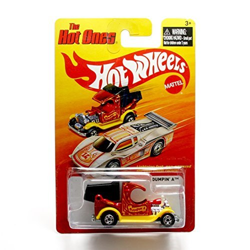 DUMPIN' A (RED) * The Hot Ones * 2011 Release of the 80's Classic Series - 1:64 Scale Throw Back HOT WHEELS Die-Cast Vehicle - 1