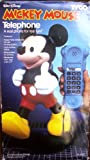 Walt Disney Mickey Mouse Telephone