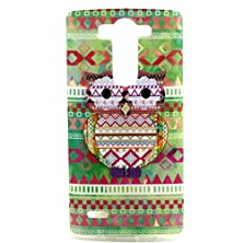 buy G3 Vigor/Mini Phone Case,Hongqing Shop Tpu Rubber Soft Cover Case, [Scratch Resistant] [Ultra Slim Thin] [Non-Slip] [Exact-Fit] Flexible Premium [Newest] [Retro] [Colorful Painted] [Flower Pattern] [Tribal Pattern] [Totem Pattern] [Animal Series] [Fashion