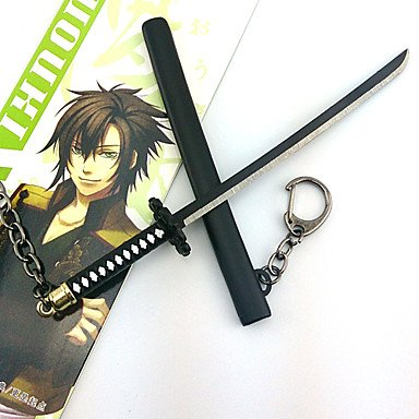 [MU Hakuouki Okita Souji 17cm Key Chain Cosplay Accessories6.99] (Costumes With Mumus)