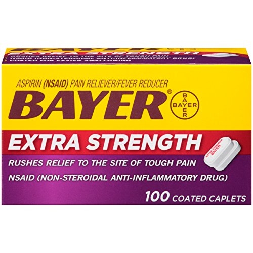 Bayer Extra Strength Bayer 500mg, 100 Count (Bayer Extra Strength compare prices)