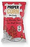 PROPERCORN Fiery Worcester Sauce & Sun-Dried Tomato Popcorn (24 pack x 20g)