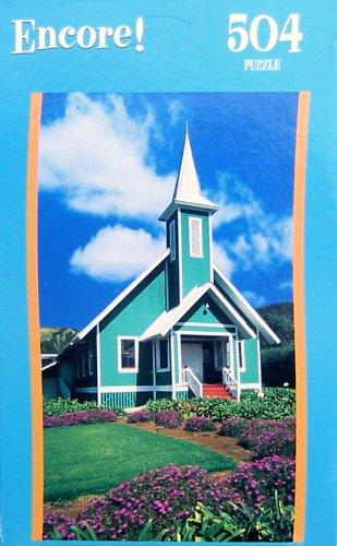Encore 504pc. Puzzle-Ke Ola Mau Loa Church, Waimee, HI - 1