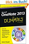 OneNote 2013 For Dummies (For Dummies...