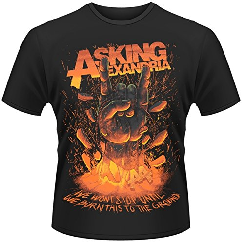 Asking Alexandria Metal Hands T Shirt (Black)