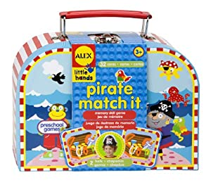 ALEX® Toys - Early Learning Pirate Matching -Little Hands 1462
