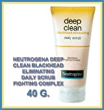 Neutrogena Deep Clean Blackhead Eliminating Daily Scrub Fighting Complex 40 G Made In Thailand