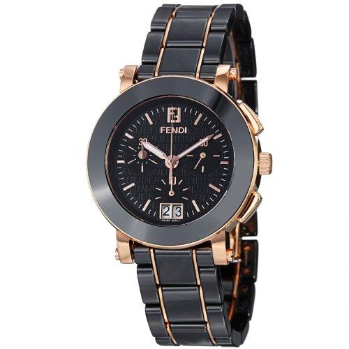 Fendi Women's F671110 Ceramic Stainless Steel and Ceramic Bracelet Watch