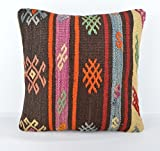 Wool Pillow, KP1062, Kilim Pillow, Decorative Pillows, Designer Pillows, Bohemian Decor, Bohemian Pillow, Accent Pillows, Throw Pillows