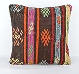 Wool Pillow, KP1062, Kilim Pillow, Decorative Pillows, Designer Pillows, Bohemian Decor, Bohemian Pillow, Accent Pillows, Throw Pillows