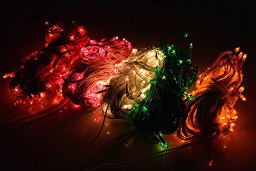 ASCENSION Set of 6 Rice lights Serial bulbs decoration lighting for diwali christmas