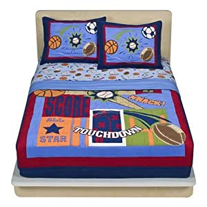 Circo sports quilt set twin home kitchen for Quilted kitchen set