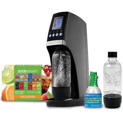 SodaStream Revolution Home Soda Maker Starter Kit, Titan and Silver