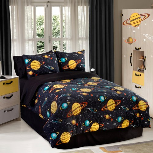 Galaxy Bedding Set 4972 front