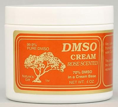 DMSO Cream Rose Scented -- 4 oz